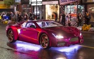 Rick Ross Purple Lamborghini Auto Bild Idee