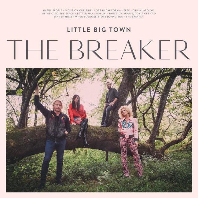 Little Big Town - The Breaker album cover