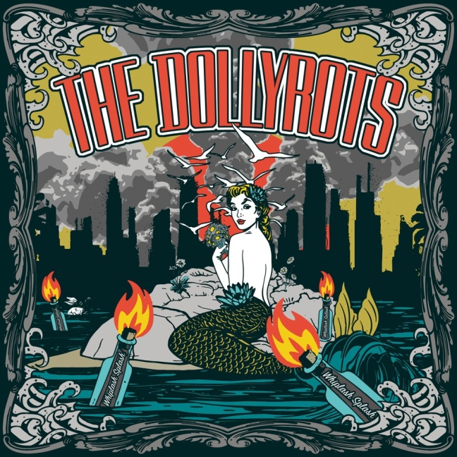 The Dollyrots- Whiplash Splash album cover