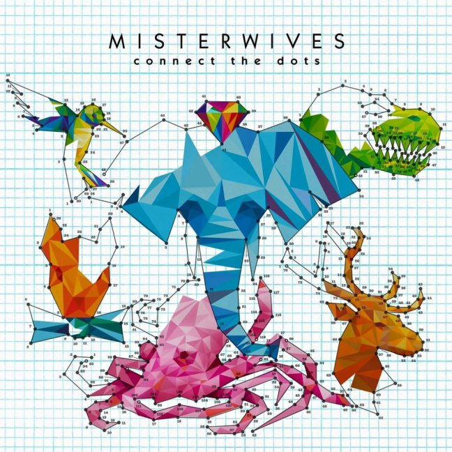 MisterWives - Connect The Dots (Album Artwork)