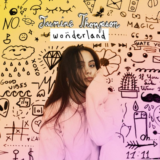 Jasmine Thompson - Wonderland EP (Album Artwork)