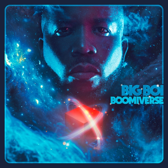 Big Boi Boomiverse Album cover art