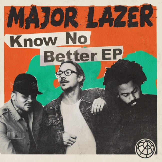 Major Lazer - Know No Better Album​ Cover 2017